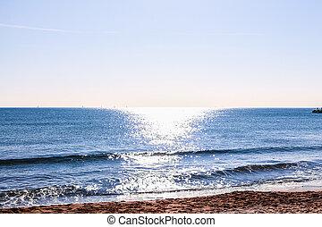 HDR Beach in Barcelona