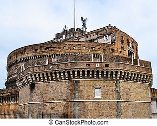 HDR Castel Sant'Angelo, Rome - High dynamic range (HDR) The ...