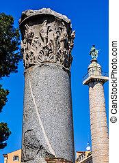 HDR Colonna Traiana, Rome - High dynamic range (HDR)...