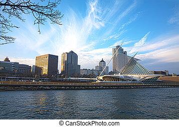 HDR Milwaukee Skyline