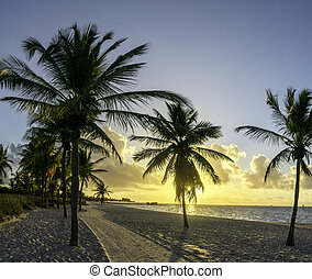 HDR of Sunrise in Key West