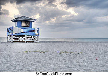 HDR of Venice Beach in Florida