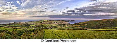 HDR Panorama - South - Isle of Man