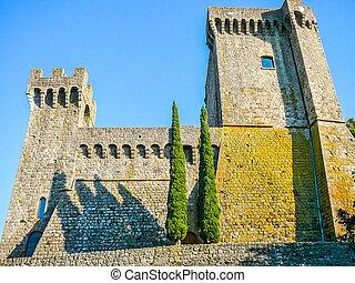 HDR Piancastagnaio, Italy