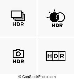 HDR symbols