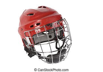 hełm, hokej