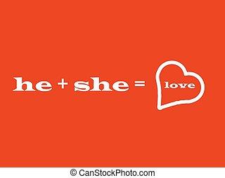 he a she