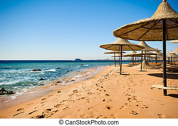 sharm el sheikh - he coast of sharm el sheikh in Egypt