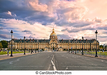 he National Residence of the Invalids. Paris