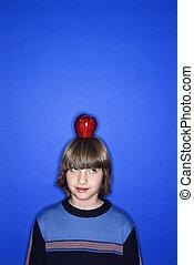 head., アップル, 男の子