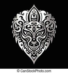 head., 種族, pattern., ライオン