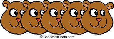 Head bears