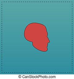 head computer symbol