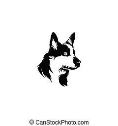 head dog's logo