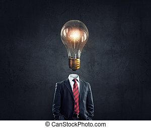 Head full of ideas