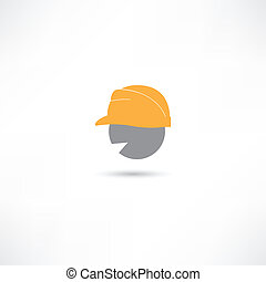 Head in a helmet