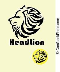 Head Lion Logo