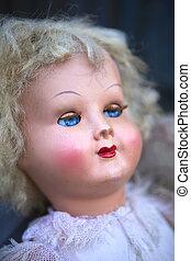 Head of a doll