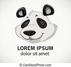 Head of a panda