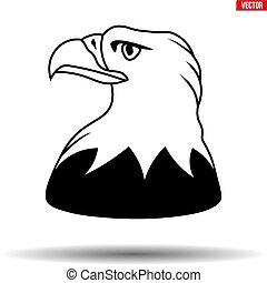 Head of American Eagle