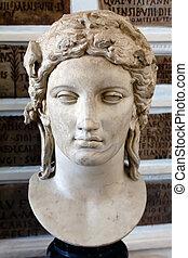 Head of Apollo of the Anzio type