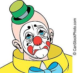 head of clown