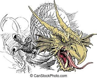 head of dragon