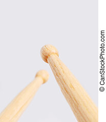head of drum sticks