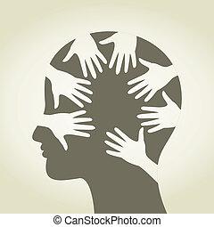 Head of hands
