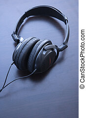 Head phones. - Still life of audio head phones.