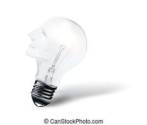 Head shaped bulb