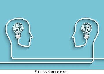 Head with bulb