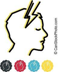Headache - Migraine Icon