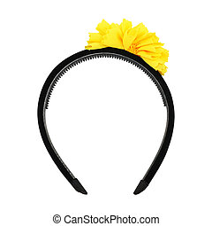 Headband on white background