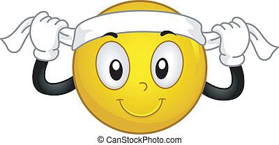 Headband Smiley