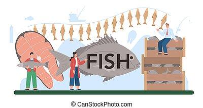 header., αιχμαλωτίζω , αλιεία , fish, αγροκαλλιέργεια. , παραγωγή , θαλασσινά , τυπογραφικός