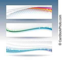 Header Banner - Abstract  background web header banner.