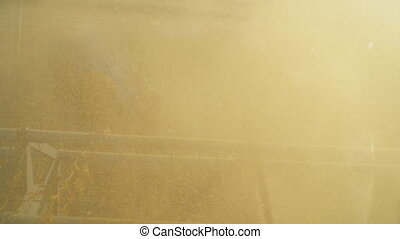 soybean combine harvester - header of a soybean combine...