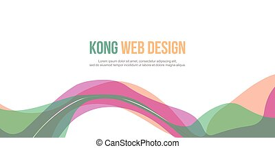 Header website abstract beauty design