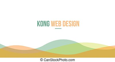 Header website abstract design collection
