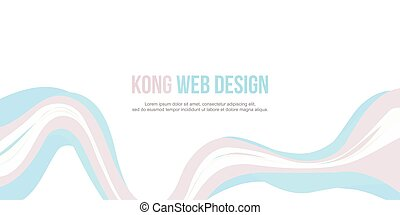 Header website abstract modern design