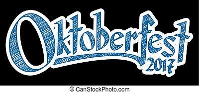 Header with text Oktoberfest 2017