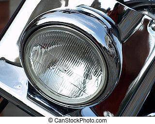 Headlamp. - Shine motorcycle headlamp.