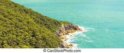 Headland In Wilsons Promontory - View of headland landscape...