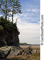 Headland - The headland, where the land ends and the sea...