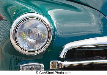 Headlight lamp vintage classic car