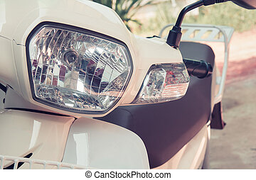 Headlight lamp vintage classic motorcycle - vintage effect style pictures