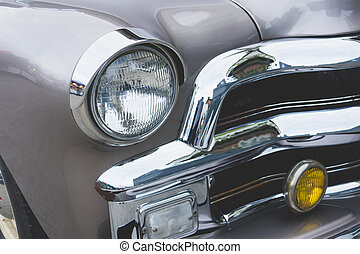 Headlight lamp vintage classic