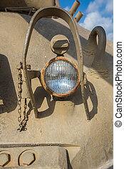 Headlight military equipment