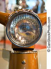 Headlight of motorbike